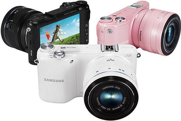 aca1404706 Como é o esperado em câmeras de lentes intercambiáveis, a Samsung NX2000  disponibiliza total controle da exposição, inclui modos de prioridades da  abertura ...